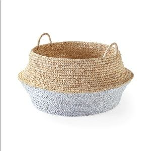 Round Belly Woven Basket
